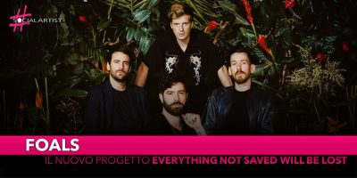 "Foals, dall'8 marzo ""Everything Not Saved Will Be Lost – Part 1"""