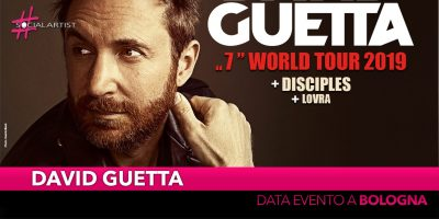 David Guetta, torna in Italia per una data evento a Bologna!