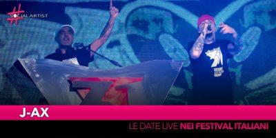 J-Ax, festeggia i 25 anni di carriera nei più importanti festival italiani
