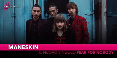 "Måneskin, da venerdì 18 gennaio in radio con ""Fear for Nobody"""
