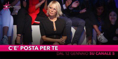 C'è Posta per Te, dal 12 gennaio in prima serata su Canale 5