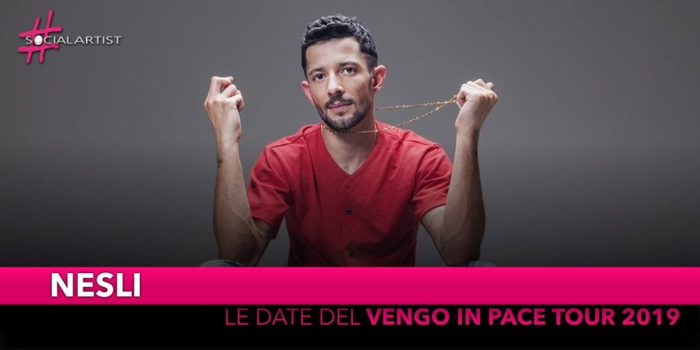 """Nesli, da marzo partirà il """"Vengo In Pace Tour 2019"""" (DATE)"""