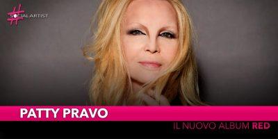 """Patty Pravo, dall'8 febbraio il nuovo album """"Red"""""""