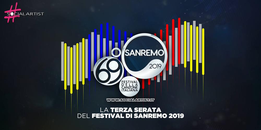 Sanremo 2019, riassunto della terza serata del Festival