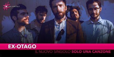 """Ex-Otago, in gara a Sanremo 2019 con il nuovo singolo """"Solo una canzone"""""""