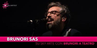 """Brunori Sas, su Sky Arte con """"Brunori a Teatro: Canzoni e monologhi sull'incertezza"""""""