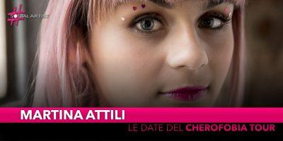 """Martina Attili, da maggio partirà il """"Cherofobia Tour"""" (Date)"""