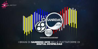 Sanremo 2019, le prime ore nei digital store dei brani del Festival