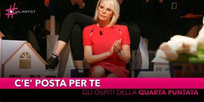 C'è posta per te, ospiti della quarta puntata Mauro Icardi, Wanda Nara e Claudio Amendola