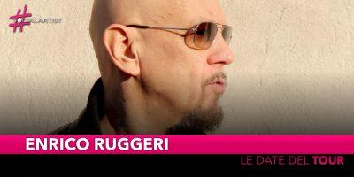 Enrico Ruggeri, da aprile partirà il suo tour tra Teatri e Club