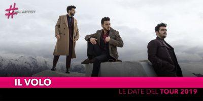 """Il Volo, da giugno partirà il """"Musica Tour 2019"""" (Date)"""