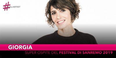 Giorgia, super ospite del Festival di Sanremo 2019