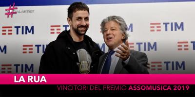 """La Rua, vincitori del """"Premio assomusica 2019"""""""