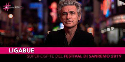 Ligabue, super ospite del Festival di Sanremo 2019