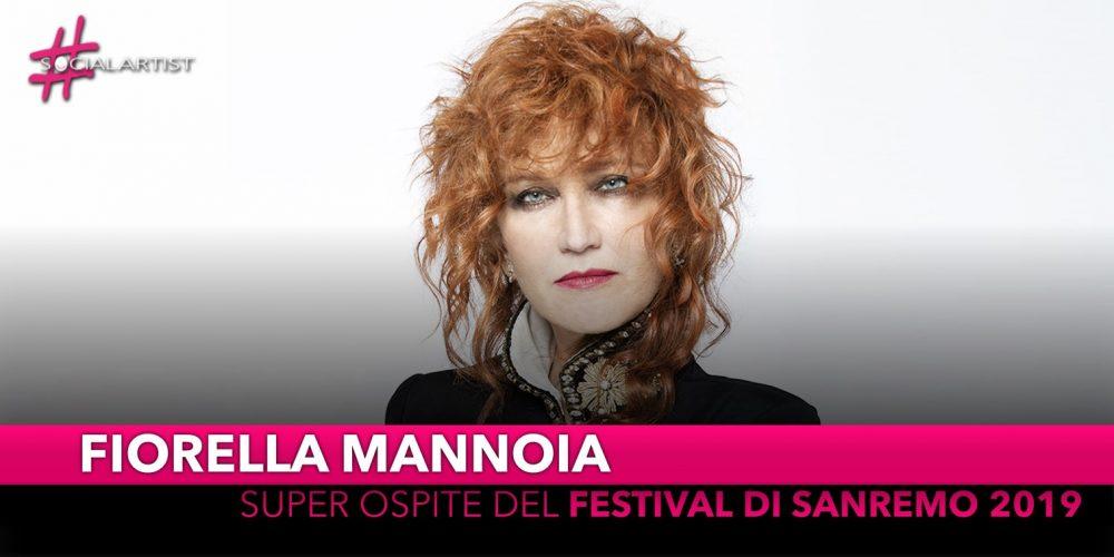 Fiorella Mannoia, super ospite al Festival di Sanremo 2019
