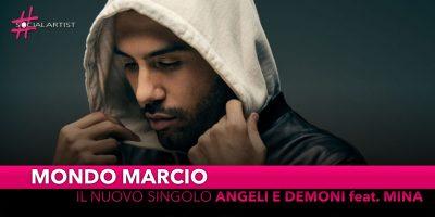 """Mondo Marcio, dal 22 febbraio il nuovo singolo """"Angeli e Demoni"""" feat. Mina"""