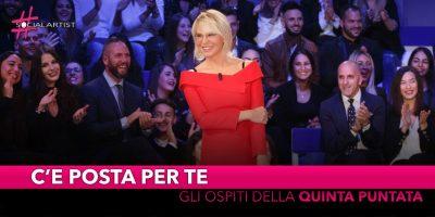 C'è posta per te, ospiti della quinta puntata Alessandra Amoroso, Mario Balotelli e Pio e Amedeo