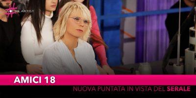 Amici 18, una nuova puntata del pomeridiano del talent show di Maria de Filippi