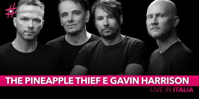 The Pineapple Thief eGavin Harrison, dal vivo in Italia a febbraio!