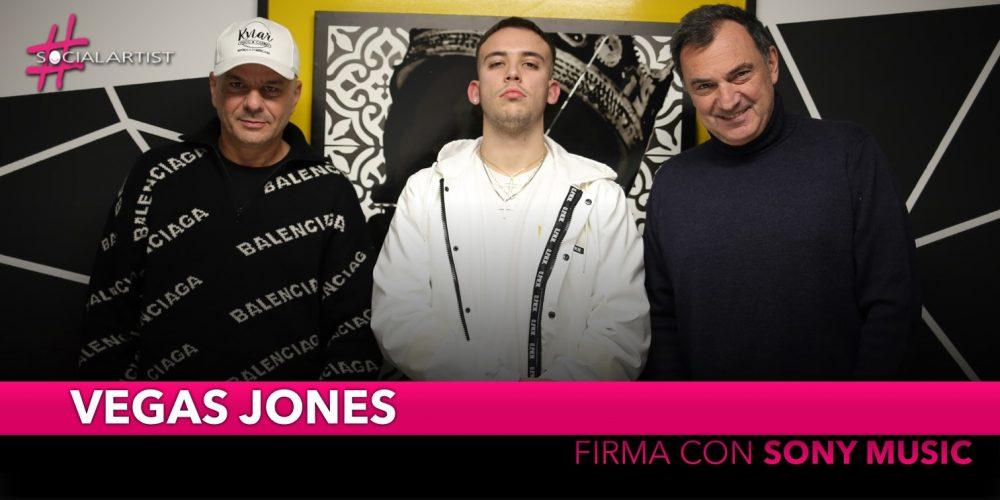 Vegas Jones, arriva la firma con Sony Music Italy