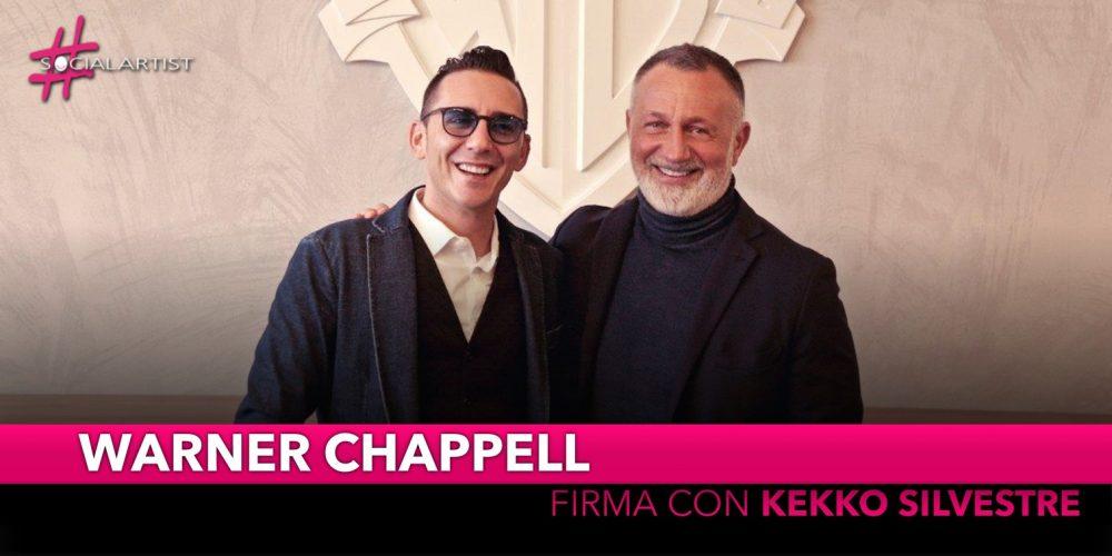 Warner Chappell, nuovo accordo editoriale con Kekko Silvestre
