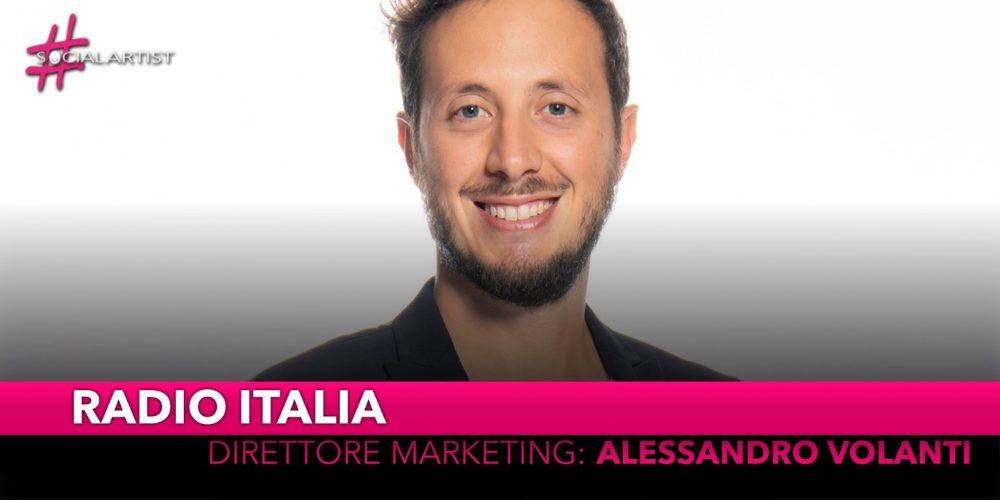 Radio Italia, Alessandro Volanti nominato direttore marketing