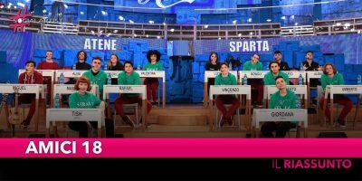 Amici 18, nuova puntata del talent show di Amici di Maria de Filippi