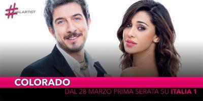 Colorado, dal 28 marzo in prima serata su Italia 1