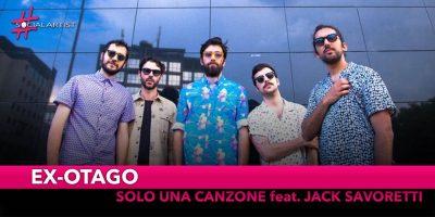 """Ex-Otago, è uscita la versione di """"Solo una canzone"""" feat. Jack Savoretti"""