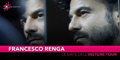 "Francesco Renga, le date del ""L'altra metà – Instore Tour"""