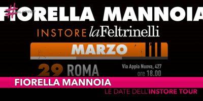 """Fiorella Mannoia, le date del """"Personale Instore Tour"""""""