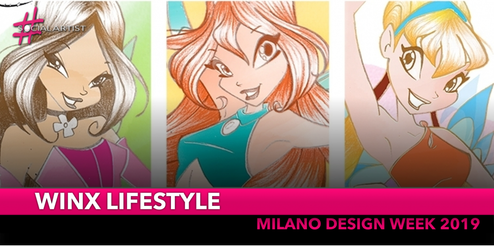 Winx Lifestyle, il mondo delle fatine vola alla design week