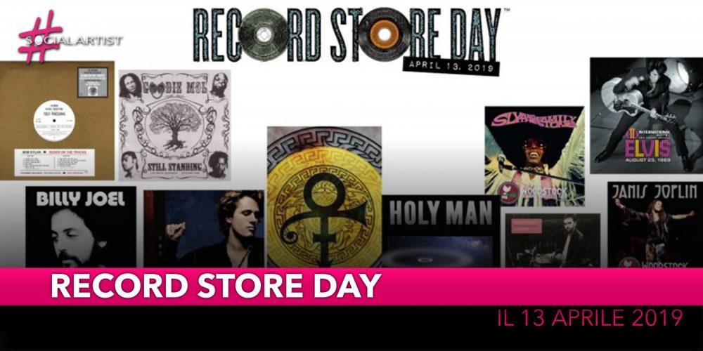 Il Record Store Day 2019 si celebrerà quest'anno sabato 13 aprile
