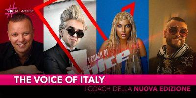 The Voice of Italy 2019, ufficializzata la giuria della nuova edizione