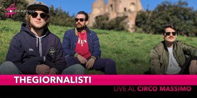 Thegiornalisti, il 7 settembre live al Circo Massimo di Roma