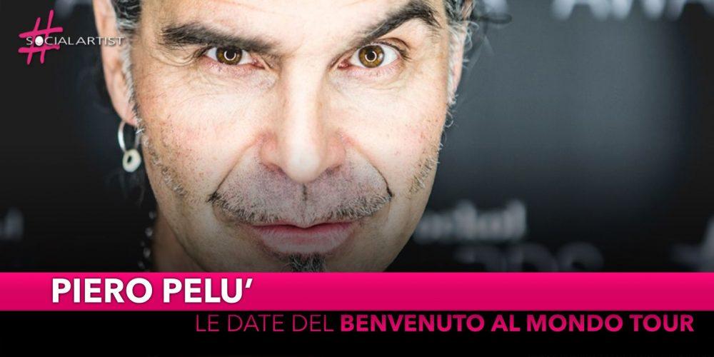 "Piero Pelù, le date del ""Benvenuto al mondo tour"""