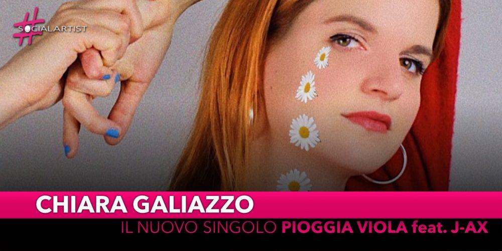 """Chiara Galiazzo, da venerdì 26 aprile il nuovo singolo """"Pioggia viola"""" feat. J-Ax"""