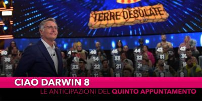 Ciao Darwin, le anticipazioni della quinta puntata
