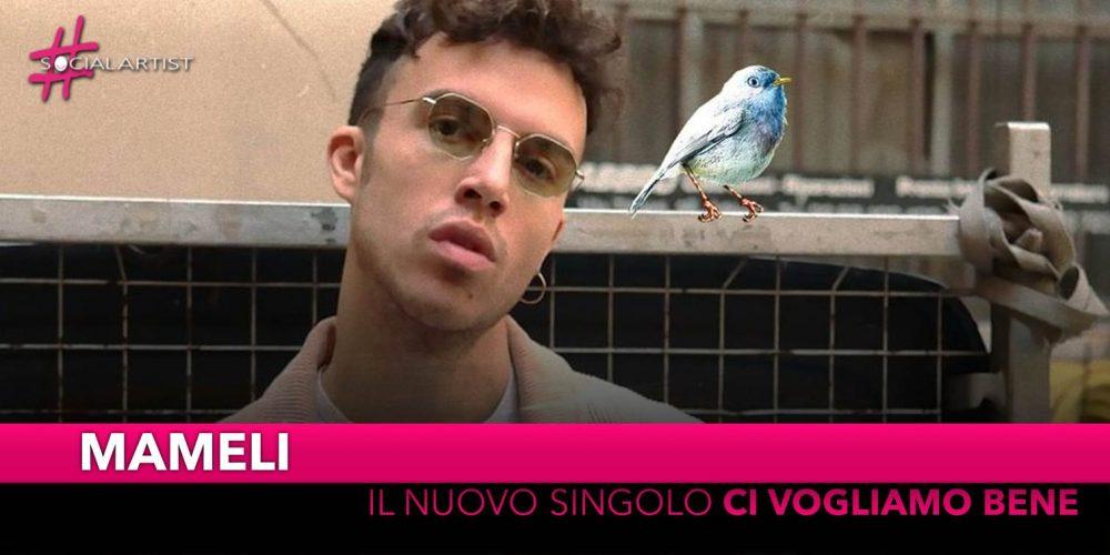 """Mameli, dal 10 aprile il nuovo singolo """"Ci vogliamo bene"""""""