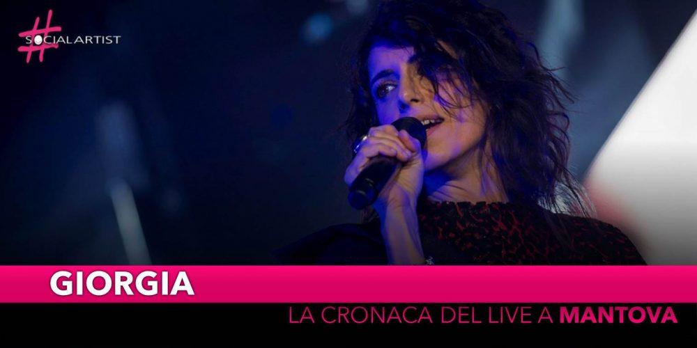 Giorgia, incanta il Grana Padano Arena di Mantova! (Scaletta)
