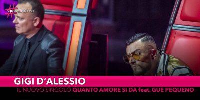 """Gigi d'Alessio, dal 3 maggio il nuovo singolo """"Quanto amore si dà"""" feat. Gué Pequeno"""