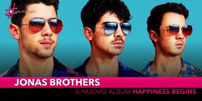 "Jonas Brothers, dal 7 giugno il nuovo album ""Happiness Begins"""