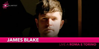 James Blake, torna live a Roma e Torino