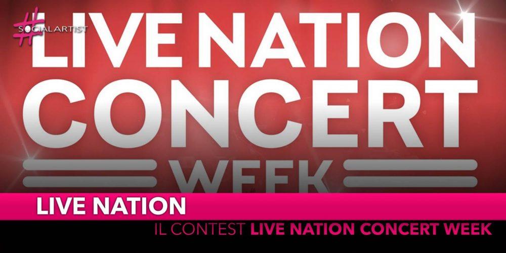"""National Concert Week, il contest per vincere """"Un anno di concerti"""""""