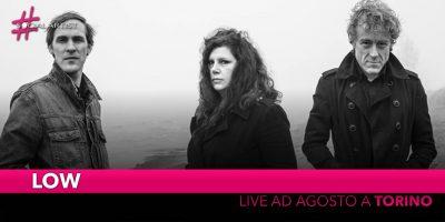Low, live al Todays Festival di Torino il prossimo 24 agosto