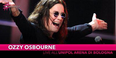 Ozzy Osbourne, all'Unipol Arena di Bologna il prossimo 10 marzo