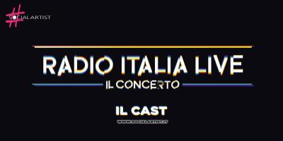 Radio Italia Live – Il Concerto, ecco il cast dell'evento