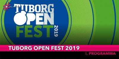 Tuborg Open Fest, il programmagiovedì 27 giugno