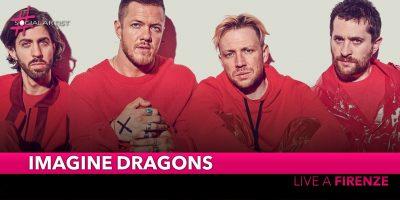 Imagine Dragons, il 2 giugno live alla Visarno Arena di Firenze