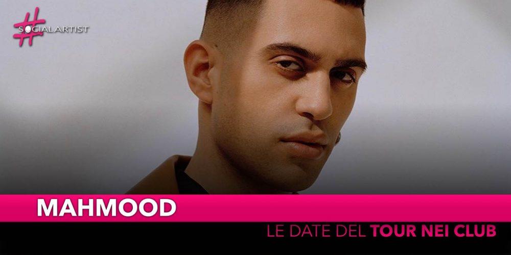Mahmood, da fine aprile partirà il tour nei club